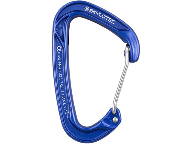 Skylotec X-Clip Moschettone Moschettone a filo, blue